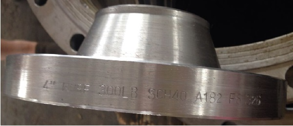 "WN RF 4"" 300LB SCH40 ASTM A182 F5 flanges"