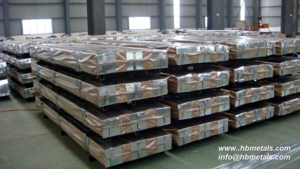 en 10028-2 16Mo3 steel plates packaged
